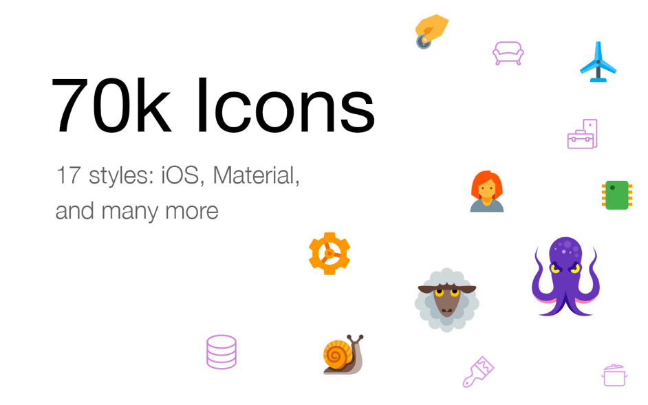Icons8 for Mac 5.7.4 破解版 - 图标素材大全
