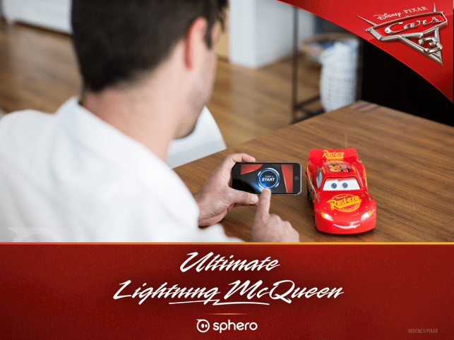 643x0w Ultimate Lightning McQueen - Spheros app-gesteuertes Modellauto mit Persönlichkeit im Test Apple iOS Entertainment Featured Gadgets Games Google Android Hardware Reviews Testberichte YouTube Videos