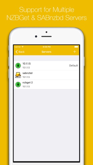 Quick NZB widgets for Sabnzbd on the App Store