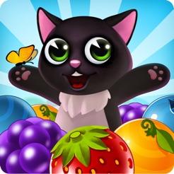 fruity cat pop bubble
