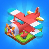 Gaga Games - Merge Plane - Best Idle Game artwork