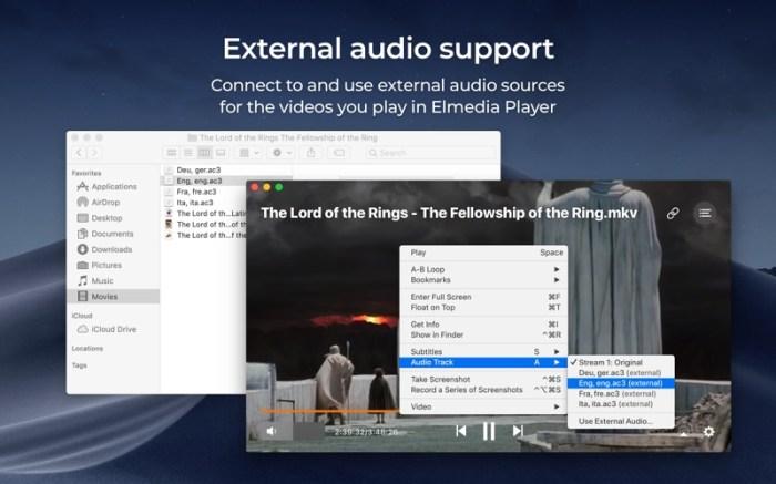 Elmedia:universal video player Screenshot 08 57shrun