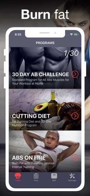 Abdominales en 30 días! Screenshot