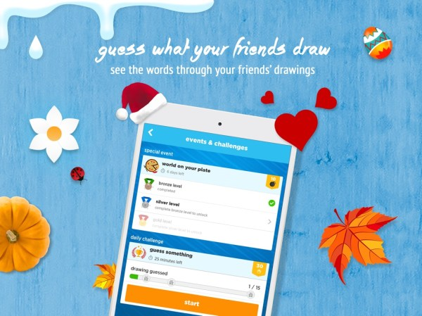 Draw Something App Year Of Clean Water