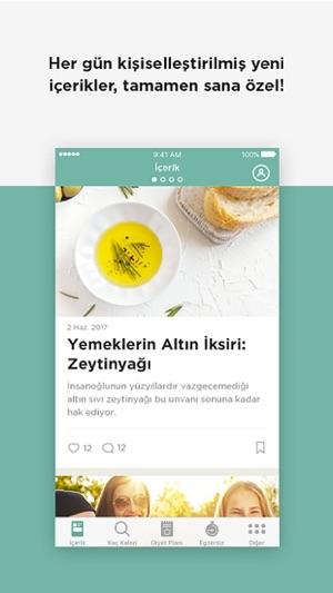 Diyetkolik Online Diyet Screenshot