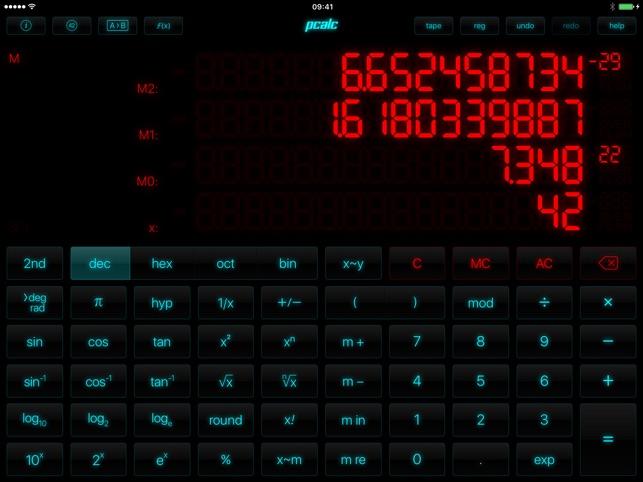 PCalc Der beste Taschenrechner Screenshot