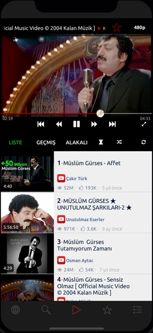 Bravo - Video Müzik Çalar Screenshot