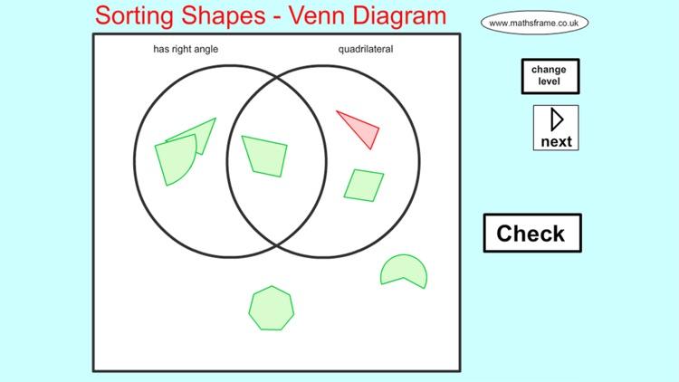 venn diagram sorting shapes ford zx2 serpentine belt 2d by mathsframe ltda