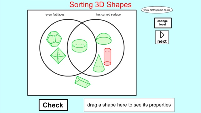 venn diagram sorting shapes seven wire trailer plug diagrams 3d on the app store 4