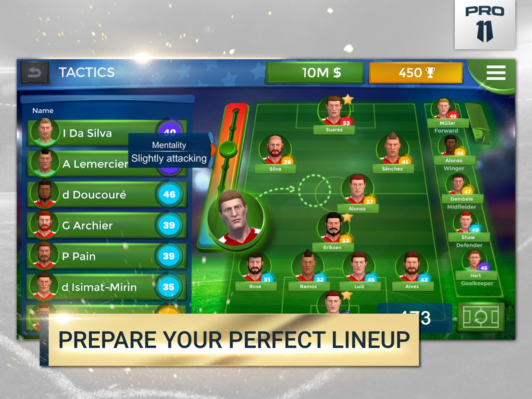 Pro 11 - Soccer Manager Game - Online Game Hack and Cheat | TryCheat.com