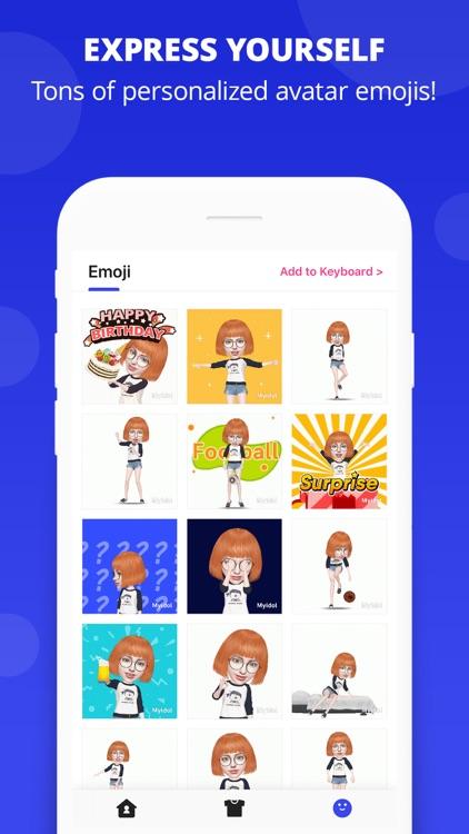 myidol emoji by huanshi