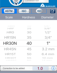 Hardness converter on the app store also rh itunesle