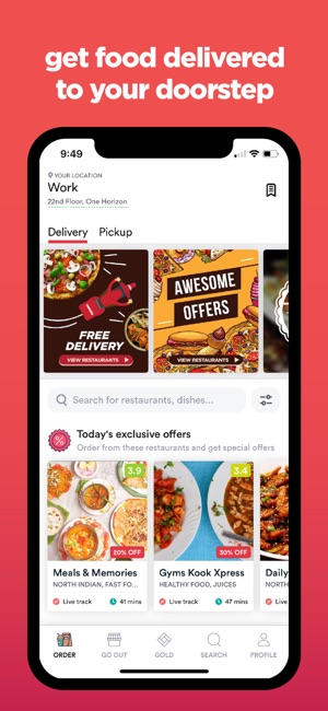 Zomato - Food & Restaurants Screenshot