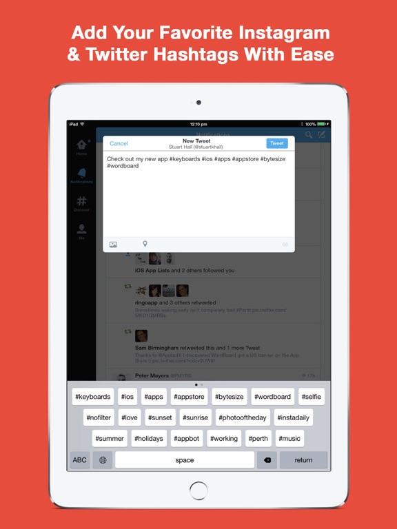 WordBoard Keyboard Screenshot