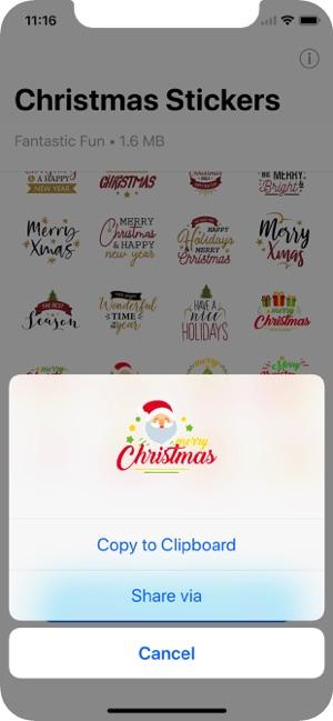 Christmas WAStickerApps Screenshot