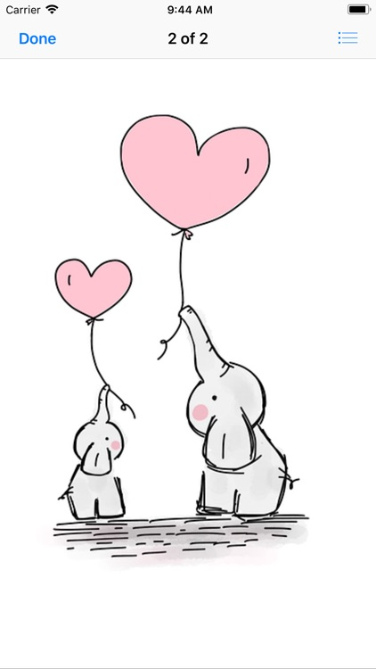 cute balloons sticker pack