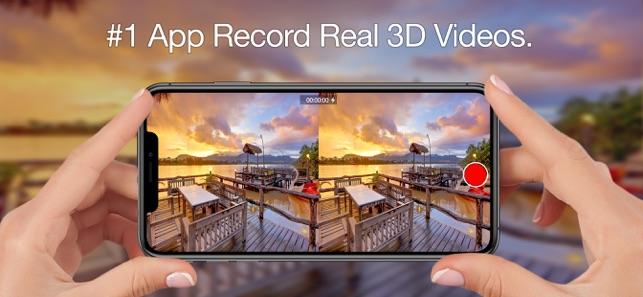 3DPro Camera Screenshot