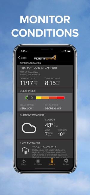 FlightStats Screenshot