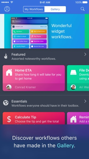 Workflow Screenshot