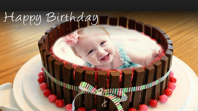 Name Photo On Happy Birthday Cake On The App Store