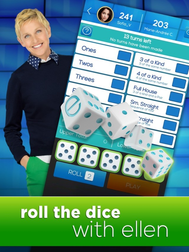 Dice with Ellen - A Fun New Dice Game! Screenshot