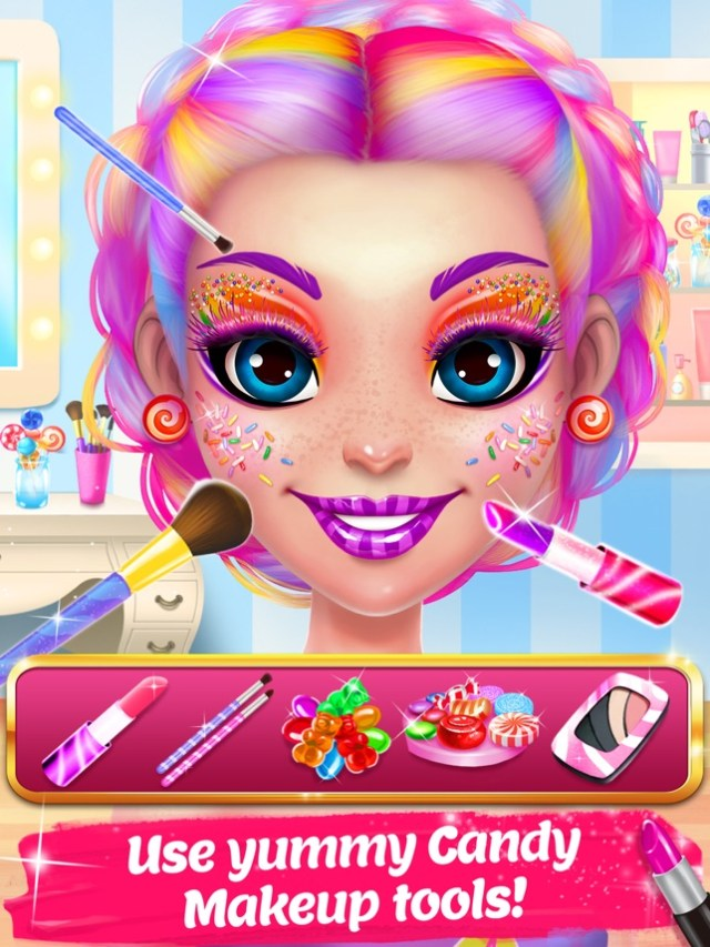 Candy Makeup Beauty Game Screenshot