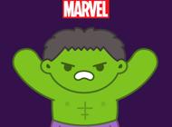 Marvel Stickers: Hero Mix
