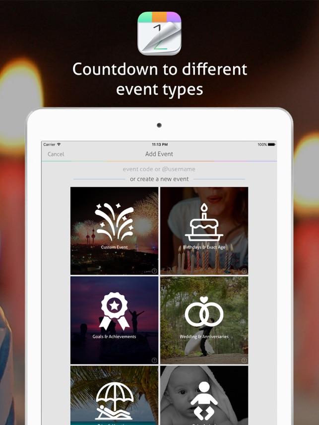 Countdown+ Calendar (Lite) Screenshot