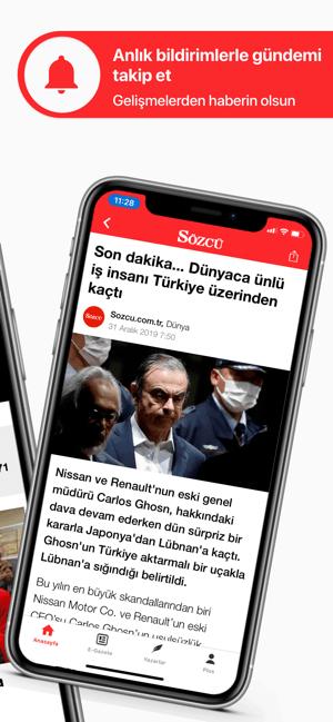Sözcü Gazetesi - Haberler Screenshot