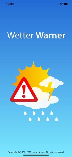 Wetter-Warner Screenshot