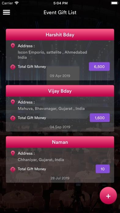 Event-Gift-Money