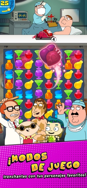 Family Guy Freakin Mobile Game Screenshot