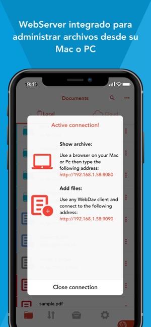 Amerigo - File Manager Screenshot