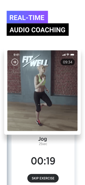 Fitwell Personal Fitness Coach Screenshot
