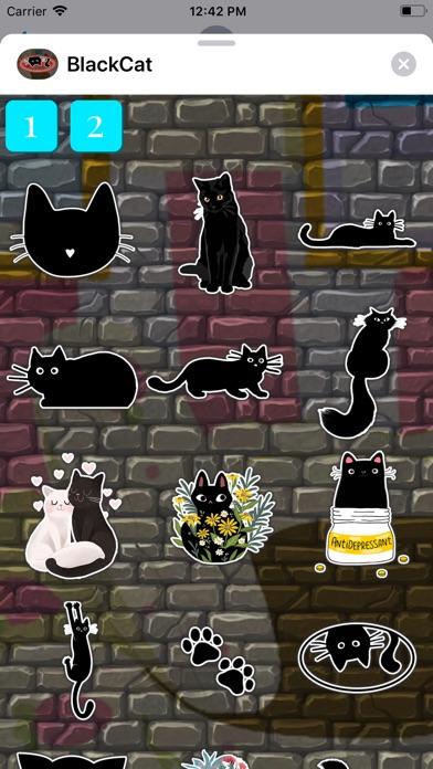 BlackCat Stickers Pack