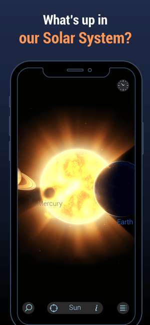‎Solar Walk Lite:Planetaryum 3D Screenshot