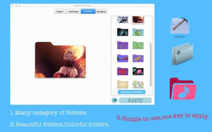 Colorful Folders Screenshot 01 12v3t5n