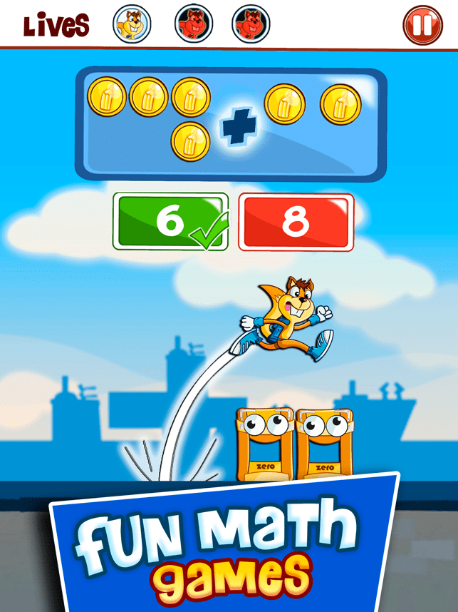 ‎Monster Numbers: Mental Math Screenshot