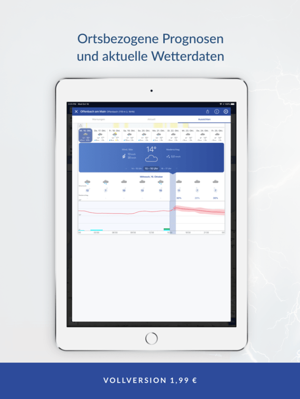 ‎WarnWetter Screenshot
