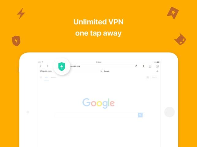 Aloha Browser: private VPN TOR Screenshot