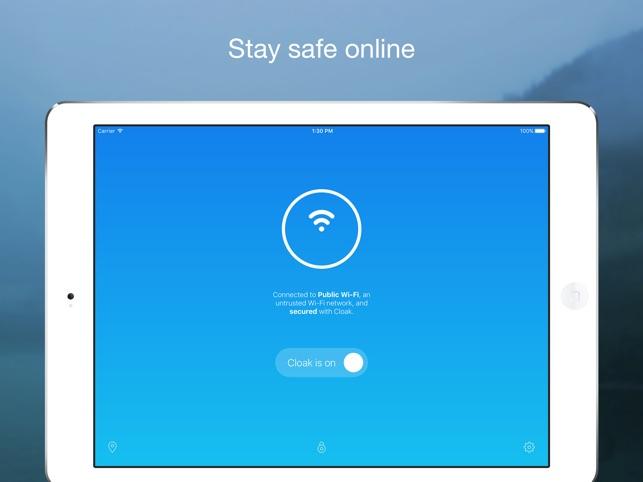 Encrypt.me Screenshot