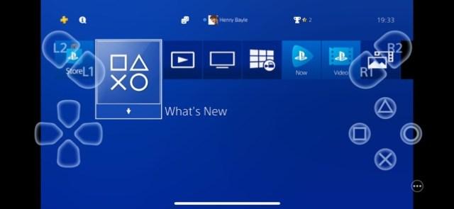 PS4 Remote Play Screenshot