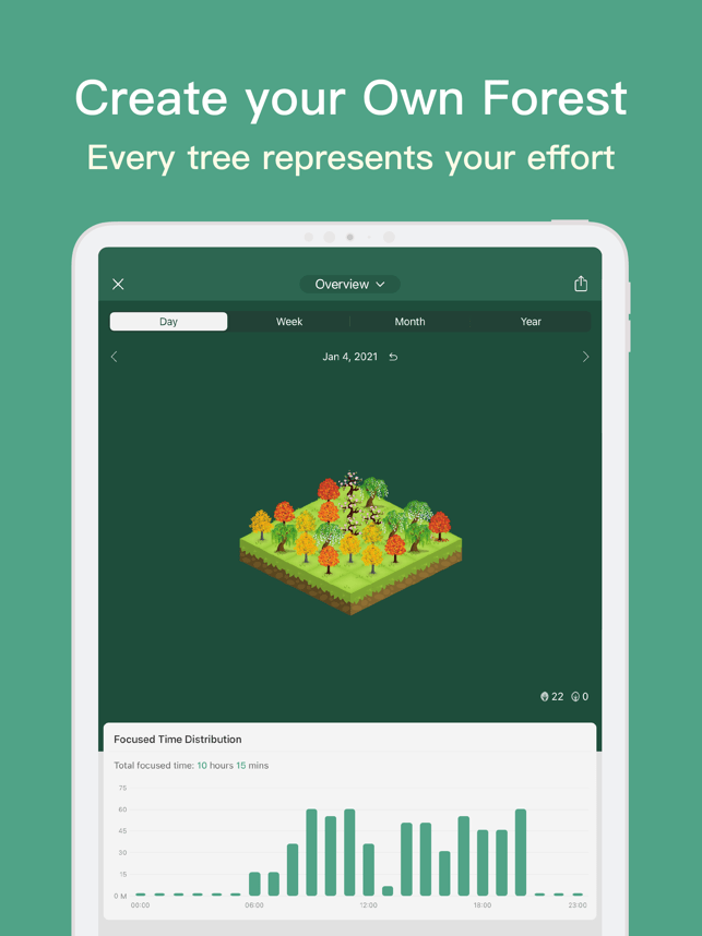 Forest - Stay focused Screenshot