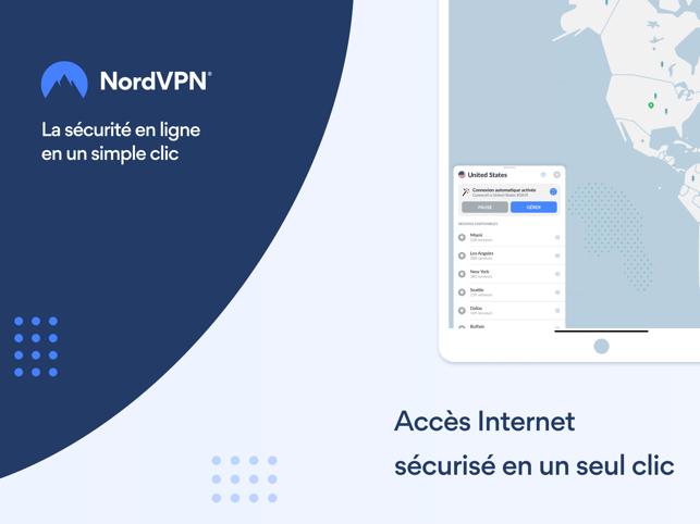 NordVPN: L'outil cybersécurité Capture d'écran