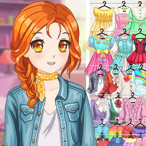 anime dress up avatar