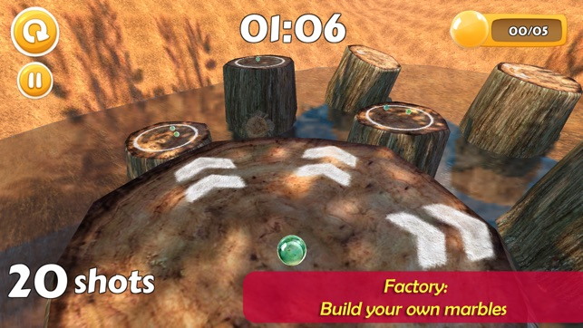 Marble Legends: 3D Arcade Game Screenshot