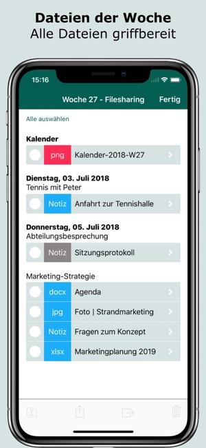 FileCalendar Screenshot