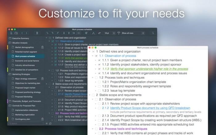 Cloud Outliner Pro Screenshot 2