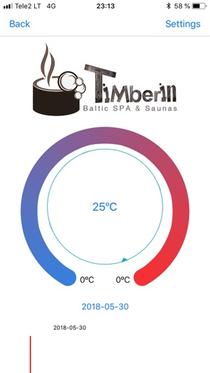 300x0w TimberTemp® - Smart 3D Printed Thermometer by TimberIN