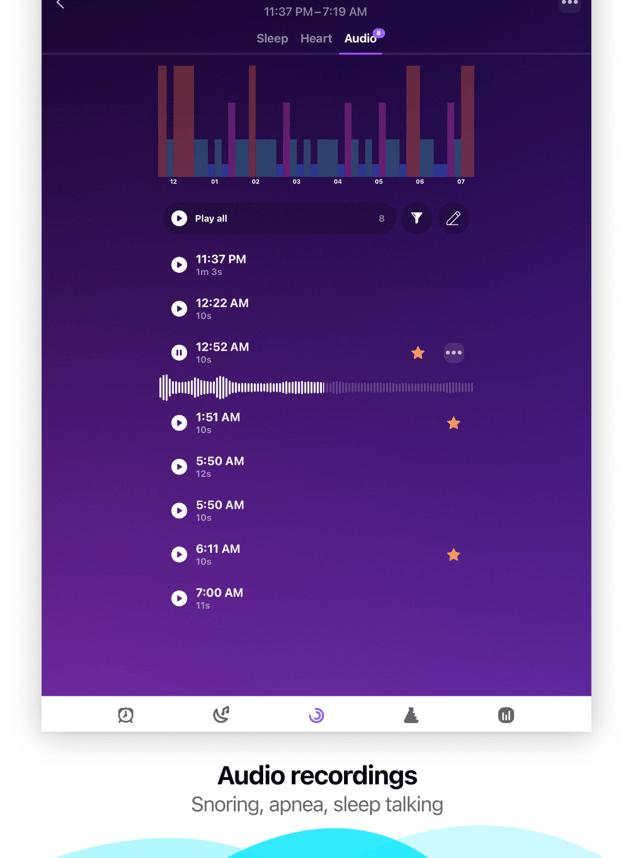 Pillow: Sleep Cycle Tracker Screenshot